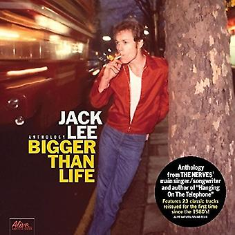 Jack Lee - Bigger Than Life [CD] USA import
