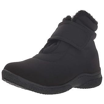 Propet Women's Madi Ankle Strap Snow Boot Black 6 Narrow Narrow US