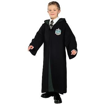 Slytherin Deluxe Harry Potter Hogwarts concesso in licenza Robe Book Week Boys Costume