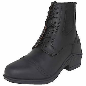Shires Moretta adultos Raffaele Lace Paddock boot-preto