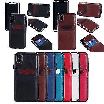 Étui portefeuille en cuir Iphone X/xs