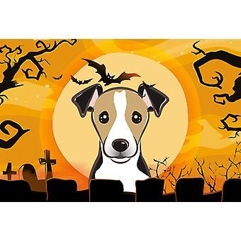 Carolines Treasures  BB1819PLMT Halloween Jack Russell Terrier Fabric Placemat