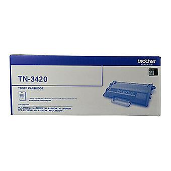 Brother TN3420 3,000 Pages Toner Cartridge - Black