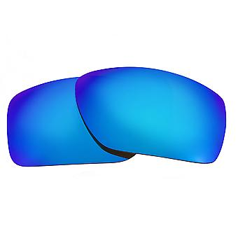 SeekOptics Replacement Lenses for Oakley Big Taco Polarized Blue Mirror UV400