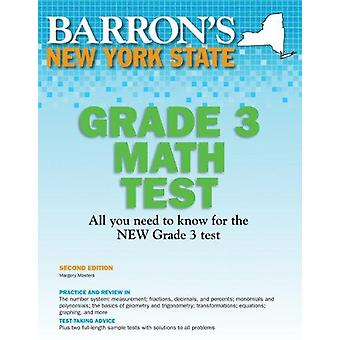 Barron's New York State Grade 3 Math Test (2nd) by Margery Masters -