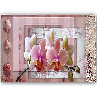 Stampa metallica, Orchidea Rosa