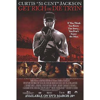 Get Rich Or Die Tryin' (Single Sided Video) (2005) Original Video Poster
