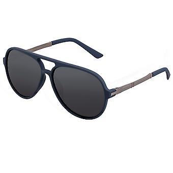 Yksinkertaista Spencer Polarized aurinko lasit-Navy/musta