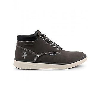 U.S. Polo-schoenen-Veterschoenen-YGOR4081W8_Y1_DKGR-heren-grijs-45