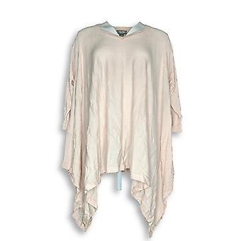 Martha Stewart Women's Sweater V-neck Pullover Light Pink A303263