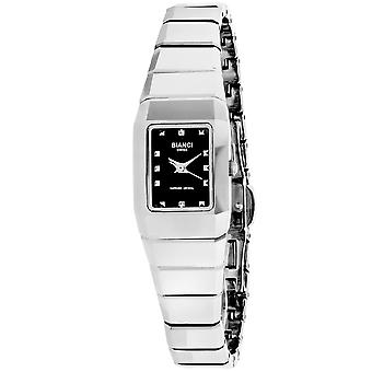 Roberto Bianci Femmes apos;s Classico Black Dial Watch - RB16963