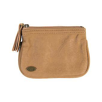 Dierlijke Nami faux Leather Wallet in bruin