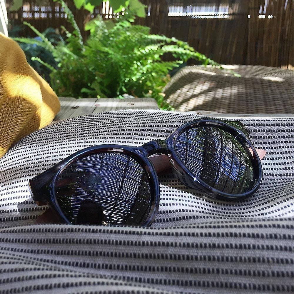 Eyewood Sunglasses - Round - Montana