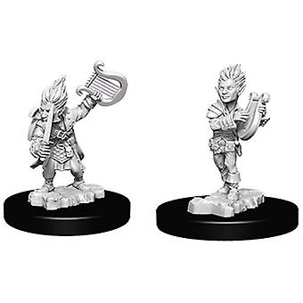 Pathfinder Battles Deep Cuts Unpainted Miniatures Gnome Male Bard (Pack of 6)