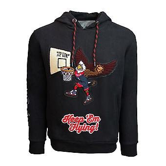 Top Gun Keep'em Flying Pullover Hoodie Black
