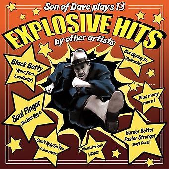 Dave-räjähtävä Hits [vinyyli] Yhdysvallat tuonti