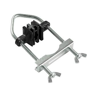 8 Trampoline Clamps, Brackets, U-Bolts for up to 1.5
