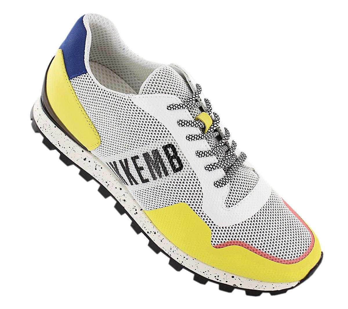 Bikkembergs Fend-er 2082 BKE108977 Herren Schuhe Weiß Sneakers Sportschuhe Wvj4Ks