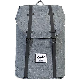 Herschel Supply Co Retreat Straps Backpack Rucksack Bag Grey 93
