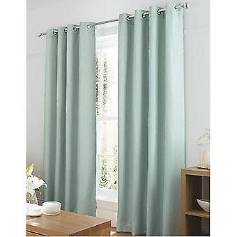 George At ASDA Textured Weave Lined Curtains