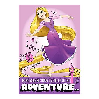 "Hallmark Disney Princess Rapunzel ""adventure"" Birthday Card 25470190"