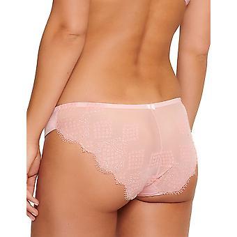 LingaDore 5026B1-182 Kvinnor's Portmany Dusty Pink Lace Knickers Trosa Full Brief
