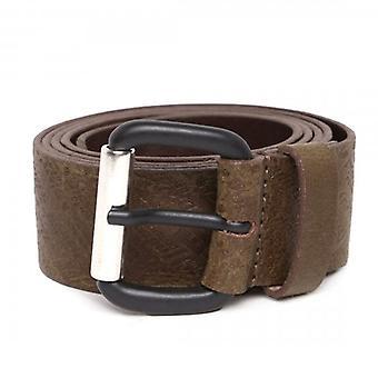 Diesel B-Strip Brown Leather Belt