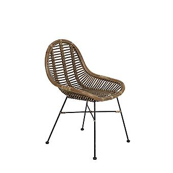 Light & Living Chair 69x56x86cm Bogor Rattan Light Brown