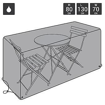 Charles Bentley Bistro Set Waterproof Outdoor Garden Möbel-Cover-schwarz