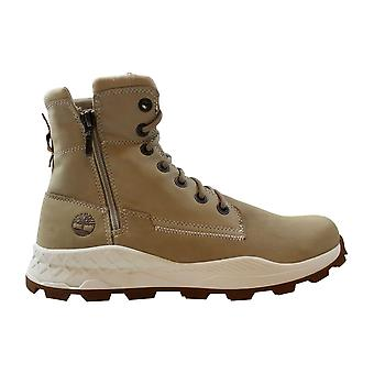 Timberland Brooklyn Side Zip Boot Light Taupe Nubuck TB0A1YMK K51 Men's