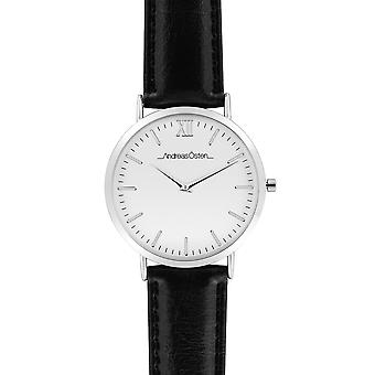 Andreas osten Quartz Analog Woman Watch with AO-01 Cowskin Bracelet