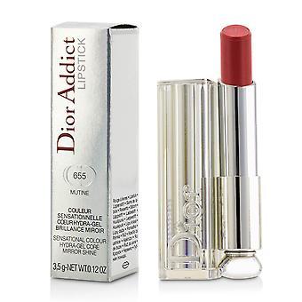 Dior addict hydra gel core miroir briller rouge à lèvres #655 mutine 198553 3.5g/0.12oz