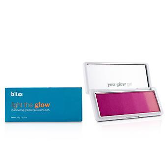Lys glød lysende gradient pulver blush # fuchsia feber 229182 10g/0.35oz