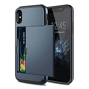 VOFOLEN iPhone XR - محفظة فتحة فتحة حالة حالة الأعمال التجارية