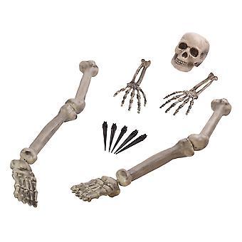 Bristol Novelty Skeleton Ground Breaker Decoration