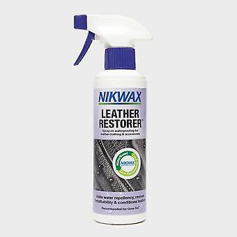 Neue Nikwax LederRestaurator 300Ml für Kleidung, Ausrüstung und Zubehör Blau