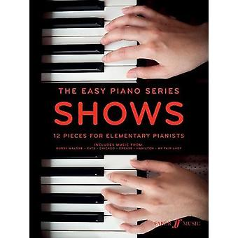The Easy Piano Series - Shows by Various - 9780571540334 Book