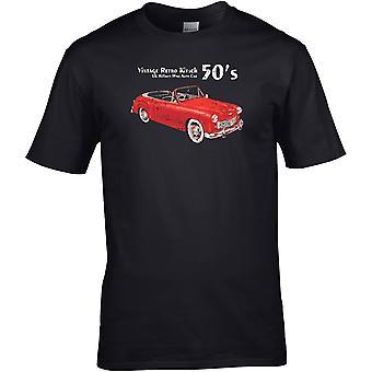Hillman Minx Auto Classic - Car Motor - DTG Printed T-Shirt