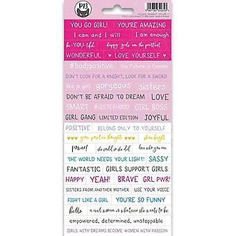Piatek13 - Sticker vel Girl Gang 01 P13-GRL-11 10.5x23 cm