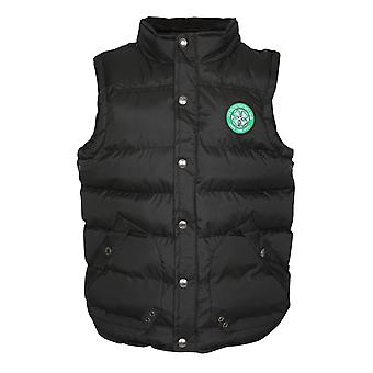 Celtic FC Official Football Gift Boys Padded Body Warmer Gilet