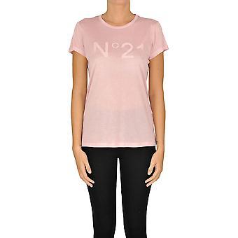 N°21 Ezgl068177 Women's Pink Modal T-shirt