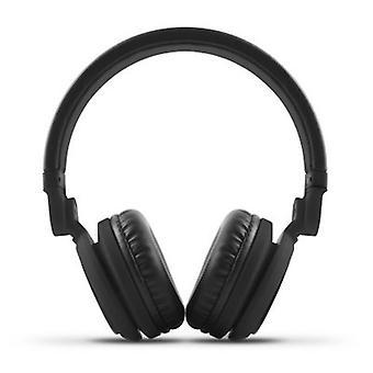 Fones de ouvido com microfone energia Sistem DJ2 preto 425877