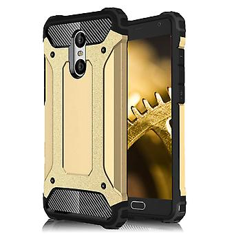 Shell pour Xiaomi Redmi Pro Hard Armor Protection Gold TPU Case