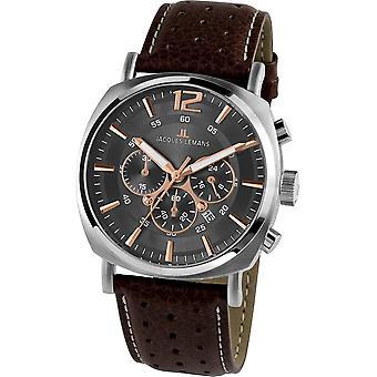 Jacques Lemans - Wristwatch - Men - Lugano - Sport - 1-1645.1H