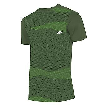 4F TSMF005 H4L19TSMF00544S träning sommar män t-shirt