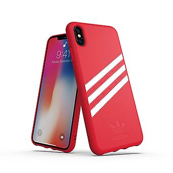 Adidas 3-Stripes Snap Case iPhone Xs Max - Rood