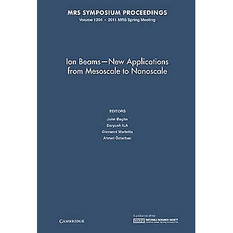 Ion Beams -new Applications from Mesoscale to Nanoscale - Volume 1354
