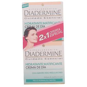 Diadermine Moisturizing Cream Matifying Normal Day Mixed Skin Pack 2 Pieces