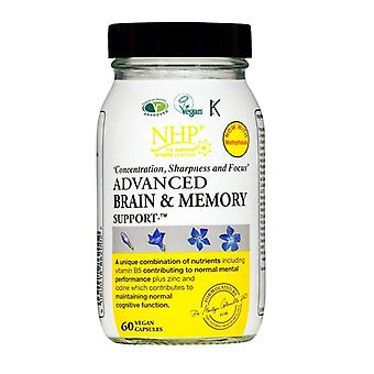 NHP Advanced Brain & Memory Capsules 60 (79357)