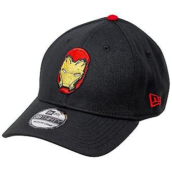 Iron Man Hjelm med Bageste Arc Reactor New Era 39Thirty Monteret Hat